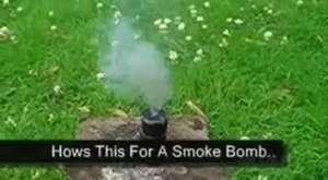 Sis Bombası Nasıl Yapılır