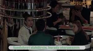 Tanımadığın İnsanların Masasına Oturma Şakası | Absurd TV