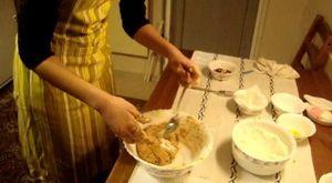Çikolatalı Ganaj Kaplamalı Pratik Yaş Pasta Yapımı