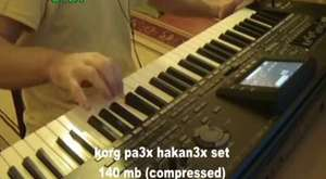 Korg Pa3x-CE usb 3X SET DEMO From T.O.L.G.A 6