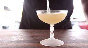 Cocktail Recipe • Apple Gin Gimlet