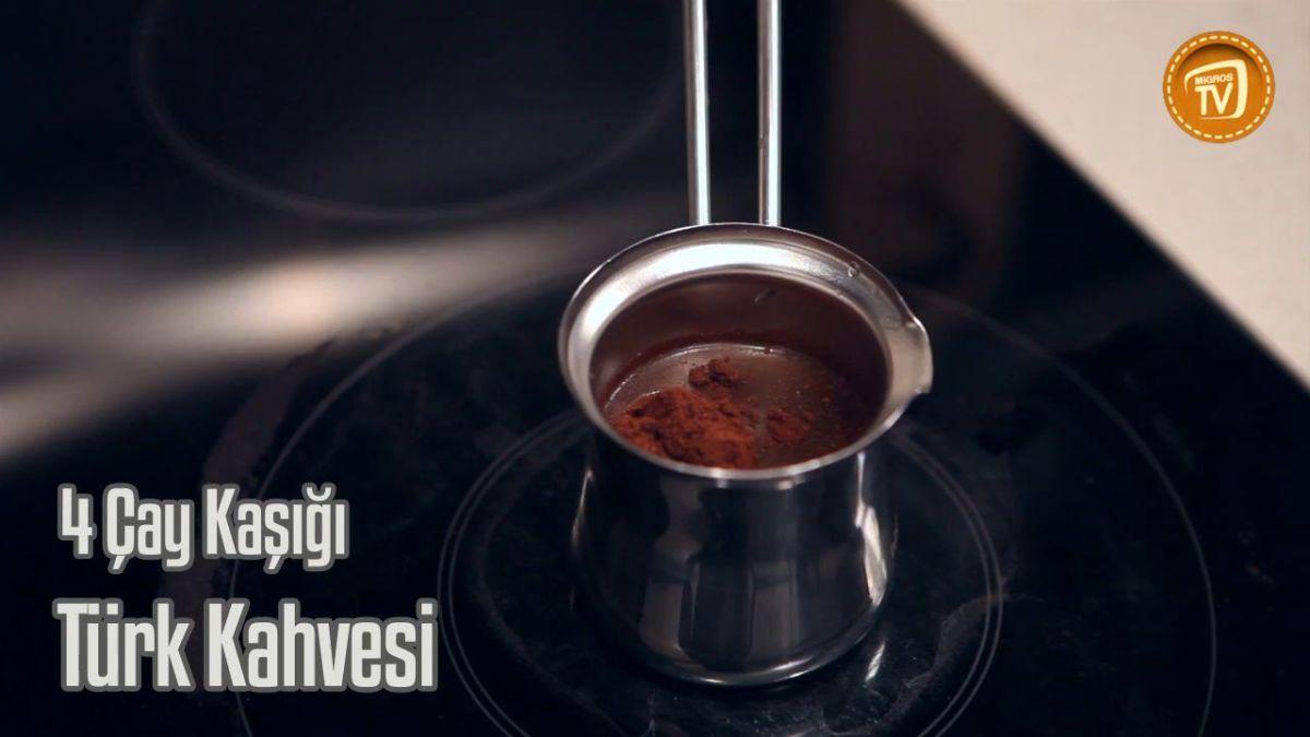 Vanilyalı Sütlü Türk Kahvesi Videosu