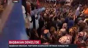 Başbakan Recep Tayyip Erdoğan Denizli Mitingi