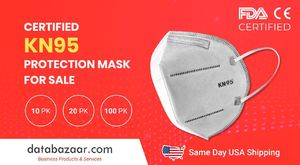 FDA Certified KN95 Mask available at Best Price at Databazaar.com – Same Day USA Shipping