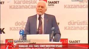 Saadet Partisi Aday Tanıtım Şöleni 2 Şubat 2014 Ankara/Arena