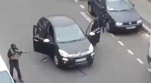 Paristeki saldırı görünrüleri!