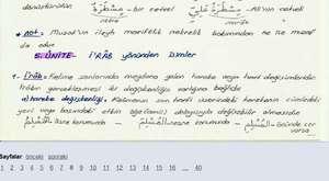 AÖF ve BAP ilahiyat Ara2001 Arapça-III 2011-2015 Yıllarında Çıkmış Sorular ve Cevapları