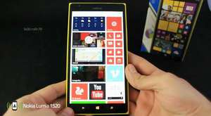 Nokia Lumia 1520 Video İnceleme - HD