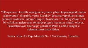 İstanbul'un En İyi 10 Hamburgercisi
