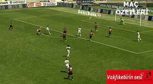 Çaykur Rizespor-Trabzonspor Salih Dursunun golü