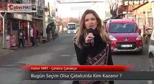Bugün Seçim Olsa Çatalca'da Kim Kazanır?