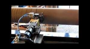 sipiral karton boru makinası