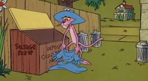 The Pink Panther in _In the Pink_