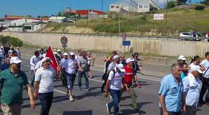 Adalet yürüyüşü`nde 22. Gün Mola Verildi