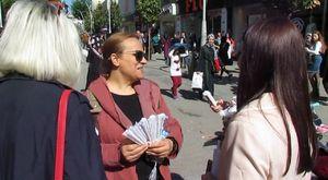 İYİ Parti Milletvekili Aday Adayları Çark Caddesi'nde