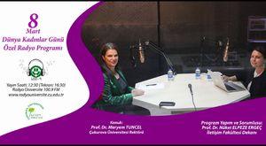 25 Kasım Kadına Yönelik Şiddete Karşı Uluslararsı Mücadele ve Dayanışma  Günü Özel Programı