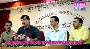 Mangalore Dasara -2014 Press Conference Held At Kudroli Temple