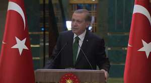 Cumhurbaşkanı Erdoğan, Romanya Cumhurbaşkanlığı Sarayı'nda|01.0415
