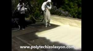 Polyure Çatı İzolasyonu