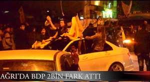 Tunceli'de olaylı gece