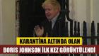 Karantinadaki İngiltere Başbakanı Johnson ilk kez görüntülendi