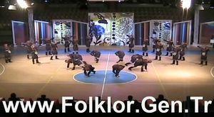 2014 THOF Gençler Final - Uşak Necati Özen Lisesi GSK - Folklor.Gen.Tr