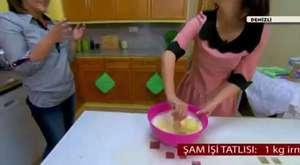 Bisküvili İrmik Tatlısı Tarifi - Kolay Sütlü İrmik Tatlısı - Bisküvili Tatlı Nasıl Yapılır?