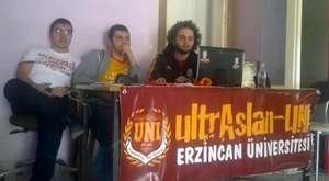 C.L. Cluj Maçı Pankart Organizasyonu