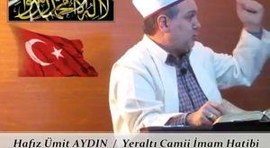 Hafız Ümit AYDIN / ZİLHİCCE AYI - Cuma Vaazı