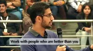 Sundar Pichai`s Speech about Leadership