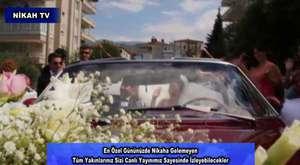 Nikahınız Düğününüz En Özel Anlarınız Nikah TV De