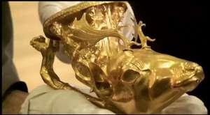 Sivas Divriğiden Çıkarılan 25 kg Saf Altın