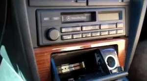 Mercedes Benz Stereo 1988-1993  sökme
