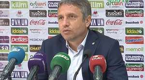 Hamzaoğlu; '' Kazanarak yola devam etmek istiyorduk''