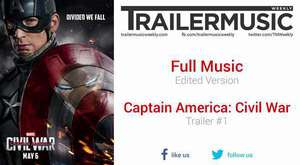 Captain America: Civil War - Trailer #1 Exclusive Full Music (Edited Version)