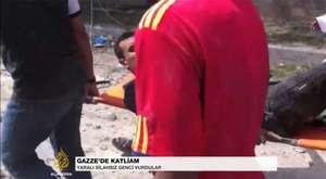 Terorist İsrail Yaptıklarını Anlatan Slayt