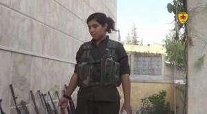Kobenede işid Kaçarken Silahlarında Bırakıp Kaçtı _YPG