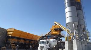 ins makina sabit beton santrali - 120 m3/h - Stationary concrete batching plants