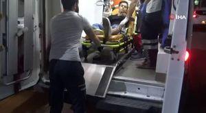 Bursa'da evleri yanan aile ölümden döndü