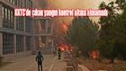 KKTC'de çıkan yangın kontrol altına alınamadı
