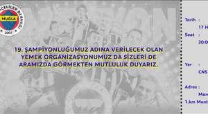 Muğla Fenerbahçeliler Derneği Yemeği