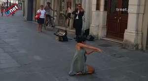 Rima Baransi Palestinian girl dancing