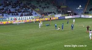 Bursaspor 7-1 K. Karabükspor maç özeti