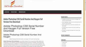 Adobe Photoshop CS6 Serial Number And Keygen Full Version Free Download