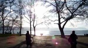 İznik Gölü İçinde Mezuniyetlerini Kutladılar 2