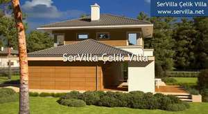 SerVilla Anahtar Teslim Çelik Villalar Katalog 2016