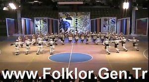 2014 THOF Gençler Final - Rize Belediyesi GSK - Folklor.Gen.Tr