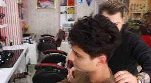 ASMR Turkish Barber Face,Head and Back Massage 82