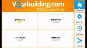 Teog  9. Unite İngilizce Kelime Dersi 1