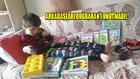 - Yürüyemeyen 10 yaşındaki Buğrahan'a manevi kardeşlerinden hediye